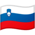 🇸🇮 flag: Slovenia Emoji on Google Platform