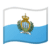 🇸🇲 flag: San Marino Emoji on Google Platform