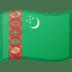 🇹🇲 flag: Turkmenistan Emoji on Google Platform