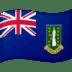 🇻🇬 flag: British Virgin Islands Emoji on Google Platform