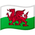 🏴󠁧󠁢󠁷󠁬󠁳󠁿 flag: Wales Emoji on Google Platform