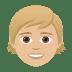 🧒🏼 child: medium-light skin tone Emoji on Joypixels Platform