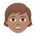 🧒🏽 child: medium skin tone Emoji on Joypixels Platform