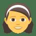 👧 girl Emoji on Joypixels Platform