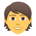 🧑 person Emoji on Joypixels Platform