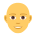 👨‍🦲 man: bald Emoji on Joypixels Platform