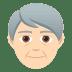 🧓🏻 older person: light skin tone Emoji on Joypixels Platform