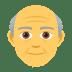 👴 Old Man Emoji on JoyPixels Platform