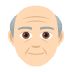 👴🏻 Light Skin Tone Old Man Emoji on JoyPixels Platform