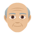 👴🏼 old man: medium-light skin tone Emoji on Joypixels Platform