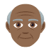 👴🏾 old man: medium-dark skin tone Emoji on Joypixels Platform
