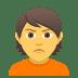 🙎 person pouting Emoji on Joypixels Platform