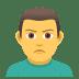 🙎♂️ man pouting Emoji on Joypixels Platform
