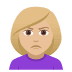 🙎🏼‍♀️ woman pouting: medium-light skin tone Emoji on Joypixels Platform
