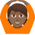 🙆🏾 person gesturing OK: medium-dark skin tone Emoji on Joypixels Platform