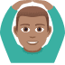 🙆🏽♂️ man gesturing OK: medium skin tone Emoji on Joypixels Platform