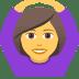 🙆♀️ woman gesturing OK Emoji on Joypixels Platform