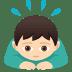 🙇🏻♂️ man bowing: light skin tone Emoji on Joypixels Platform