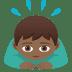 🙇🏾♂️ man bowing: medium-dark skin tone Emoji on Joypixels Platform
