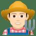 👨🏻🌾 man farmer: light skin tone Emoji on Joypixels Platform