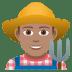 👨🏽🌾 man farmer: medium skin tone Emoji on Joypixels Platform