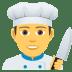 👨🍳 man cook Emoji on Joypixels Platform