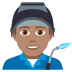 👨🏽‍🏭 man factory worker: medium skin tone Emoji on Joypixels Platform