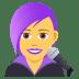 👩🎤 woman singer Emoji on Joypixels Platform