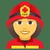 👩🚒 woman firefighter Emoji on Joypixels Platform