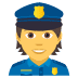 👮 police officer Emoji on Joypixels Platform