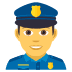 👮‍♂️ man police officer Emoji on Joypixels Platform