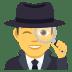 🕵️♂️ man detective Emoji on Joypixels Platform
