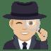 🕵🏼♂️ Medium Light Skin Tone Male Detective Emoji on JoyPixels Platform