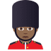 💂🏾‍♂️ man guard: medium-dark skin tone Emoji on Joypixels Platform