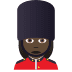 💂🏿‍♀️ woman guard: dark skin tone Emoji on Joypixels Platform