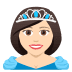 👸🏻 princess: light skin tone Emoji on Joypixels Platform