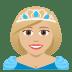👸🏼 princess: medium-light skin tone Emoji on Joypixels Platform