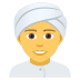 👳 Person Wearing Turban Emoji on JoyPixels Platform