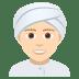 👳🏻 person wearing turban: light skin tone Emoji on Joypixels Platform