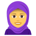 🧕 woman with headscarf Emoji on Joypixels Platform