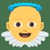 👼 baby angel Emoji on Joypixels Platform