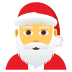 🎅 Santa Claus Emoji on Joypixels Platform