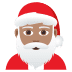 🎅🏽 Santa Claus: medium skin tone Emoji on Joypixels Platform