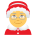 🤶 Mrs. Claus Emoji on Joypixels Platform