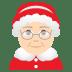 🤶🏻 Mrs. Claus: light skin tone Emoji on Joypixels Platform
