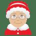 🤶🏼 Mrs. Claus: medium-light skin tone Emoji on Joypixels Platform
