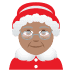 🤶🏽 Mrs. Claus: medium skin tone Emoji on Joypixels Platform