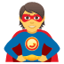 🦸 superhero Emoji on Joypixels Platform