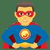 🦸♂️ man superhero Emoji on Joypixels Platform