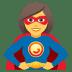🦸♀️ woman superhero Emoji on Joypixels Platform